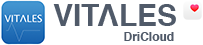 VITALES de DriCloud Logo